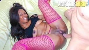 AmateurEuro - Big Ass Ebony Jenny Dark Tries Anal On Casting