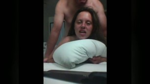 Same wife in four scenes takes anal