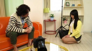 Japanese babe, Aiko Endou is squirting, uncensored