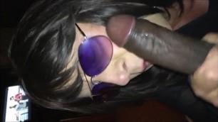 Sissy Sucking a BBC